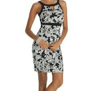 WHBM instantly slimming mini dress